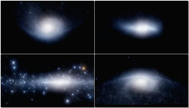 宇宙星空星云视频素材