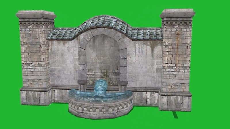 绿屏抠像流水的许愿池.jpg