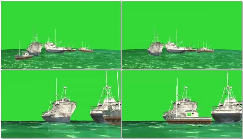 绿屏抠像渔船货轮.jpg