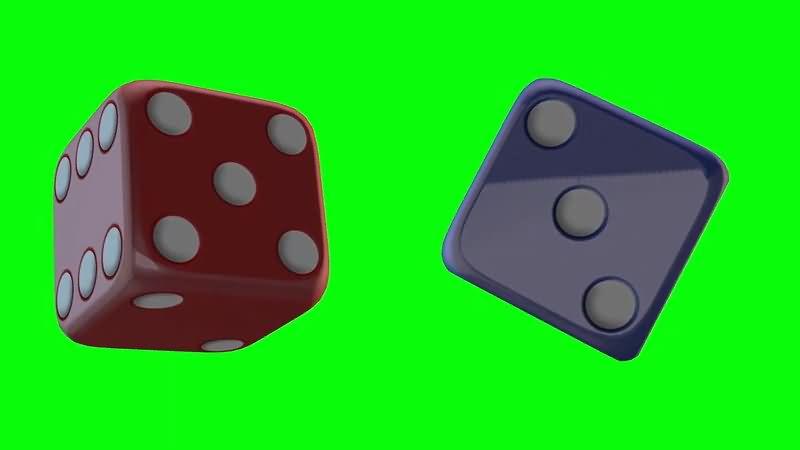 绿屏抠像彩色骰子.jpg