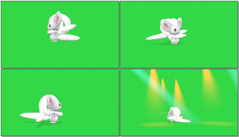 绿屏抠像口袋妖怪奇诺栗鼠.jpg