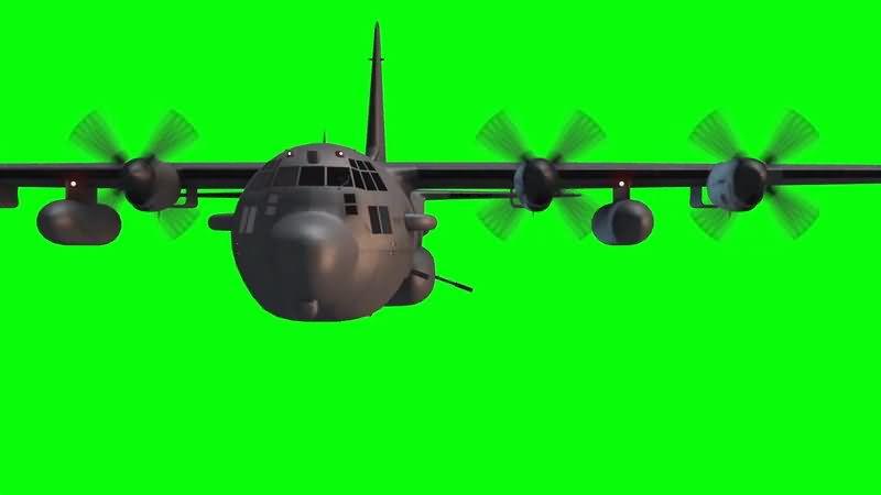 绿屏抠像大型客机..jpg