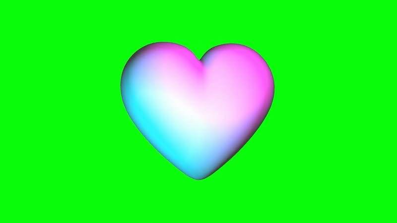 绿屏抠像旋转的爱心.jpg