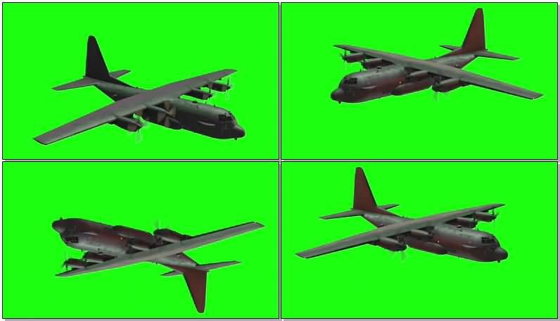 绿屏抠像运输飞机.jpg