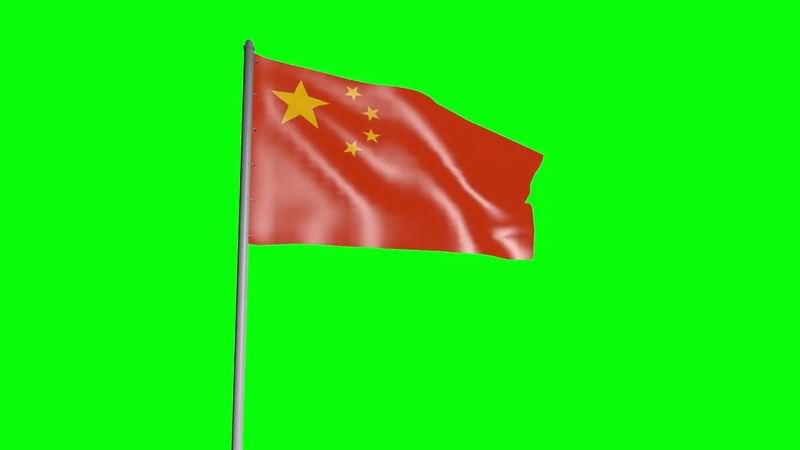 绿屏抠像中国五星红旗.jpg