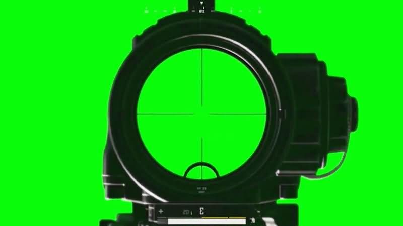 绿屏抠像吃鸡游戏瞄准镜.jpg