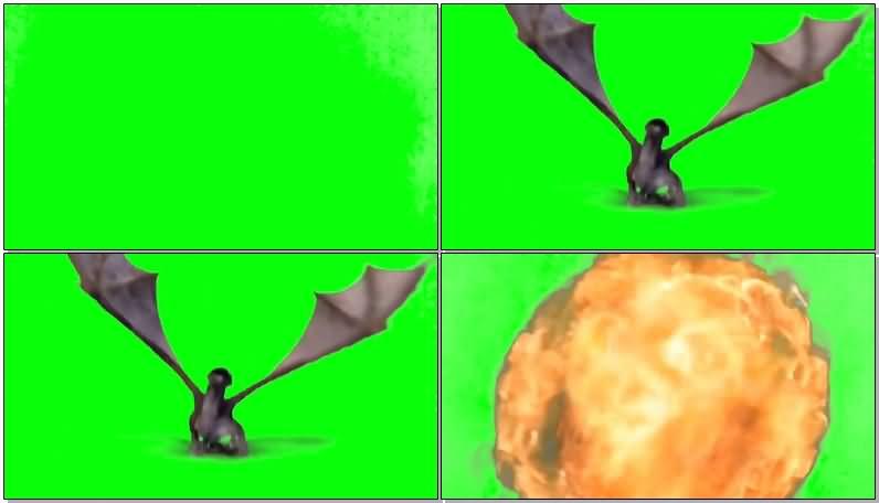 绿面抠像喷火的飞龙.jpg
