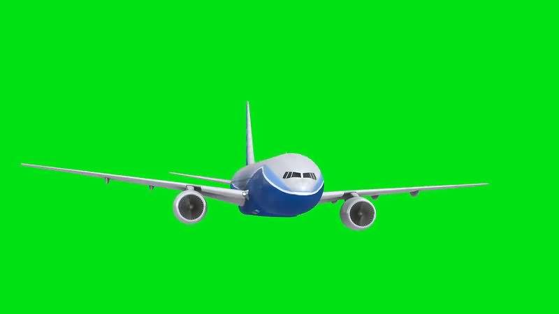 绿屏抠像民航客机.jpg
