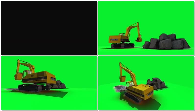 绿屏抠像工作的挖掘机.jpg