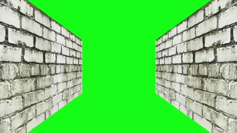 绿屏抠像狭窄的墙壁.jpg