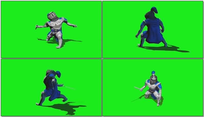 绿屏抠像战斗的骑士.jpg