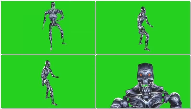 绿屏抠像终结者T-800机器人.jpg