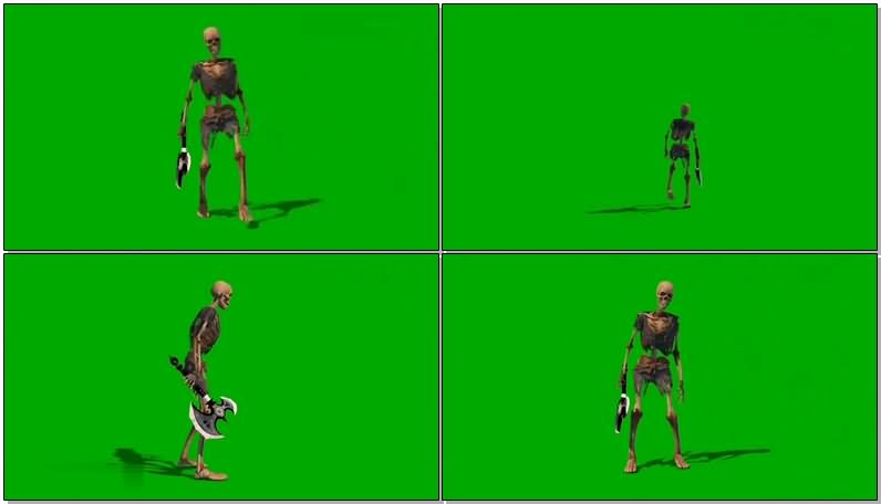 绿屏抠像拿斧子的骷髅.jpg
