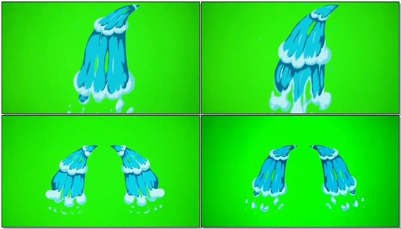 绿屏抠像卡通泉水.jpg