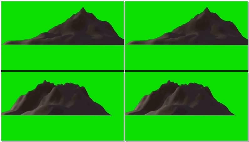 绿屏抠像旋转的3D山峰.jpg