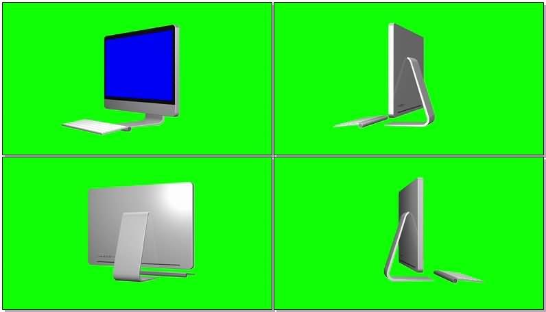 绿屏抠像iMac苹果电脑.jpg