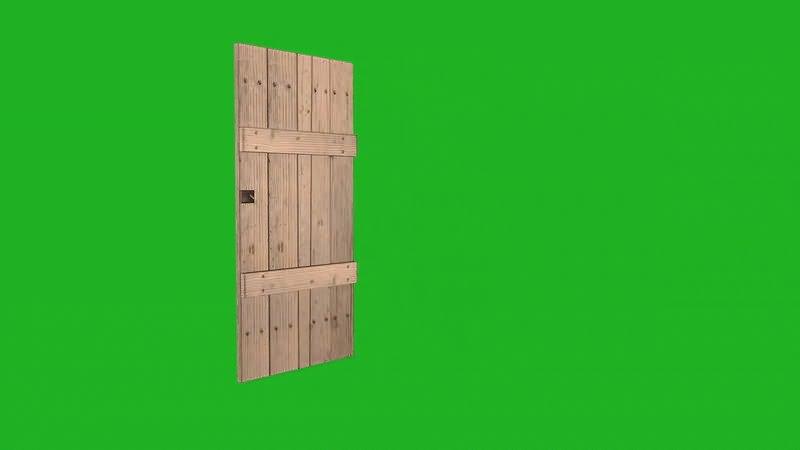 绿屏抠像打开的木门.jpg