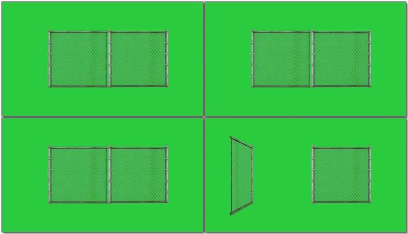 绿屏抠像铁丝网大门.jpg