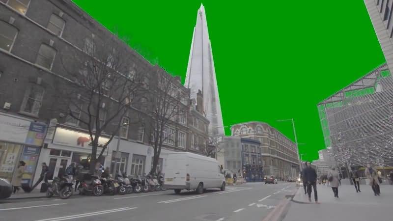 绿屏抠像城市街道走路人群.jpg