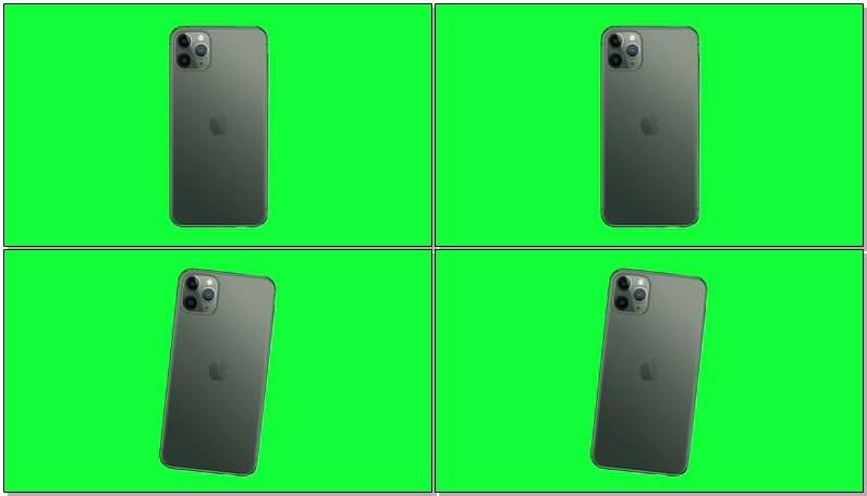 绿屏抠像iPhone 11手机.jpg