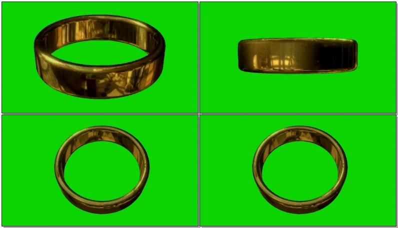 绿屏抠像指环王魔戒视频素材