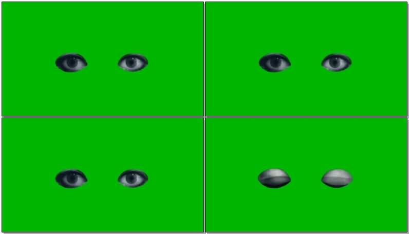 绿屏抠像黑色的眼睛.jpg