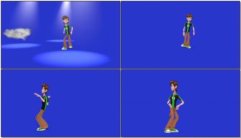 绿屏抠像跳舞的男孩.jpg