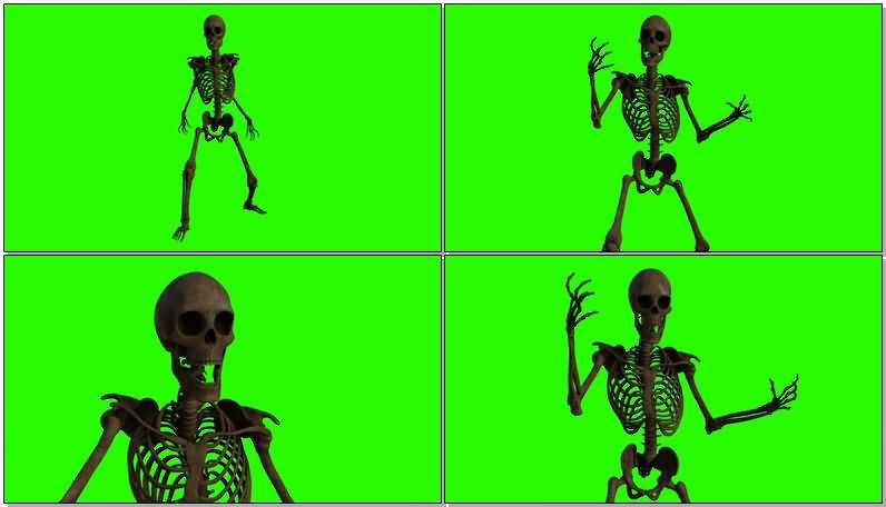 绿屏幕抠像骷髅骨架.jpg