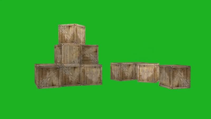 绿屏抠像视频素材木箱.jpg