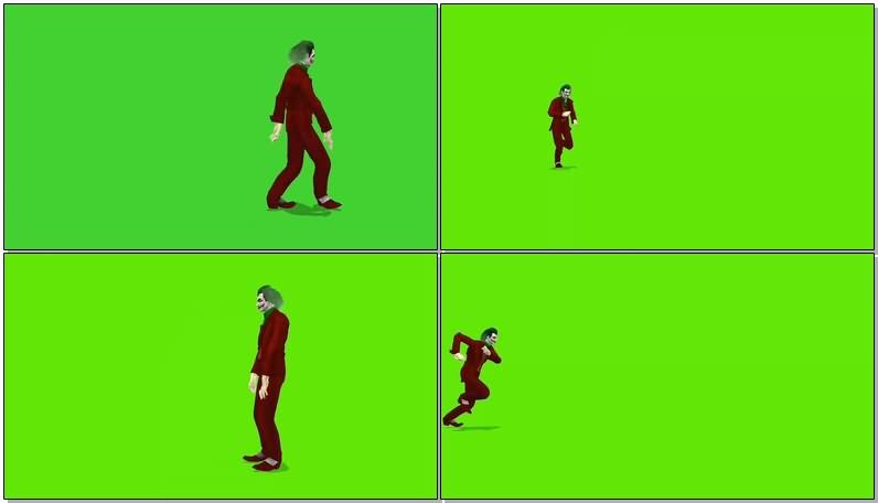 绿屏抠像视频素材小丑.jpg