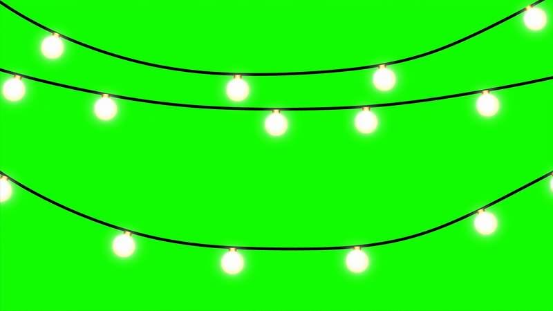 绿幕视频素材霓虹灯