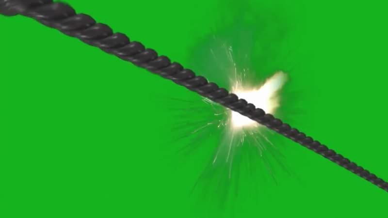 绿幕视频素材鞭打