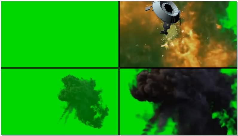 绿幕视频素材击落战机.jpg