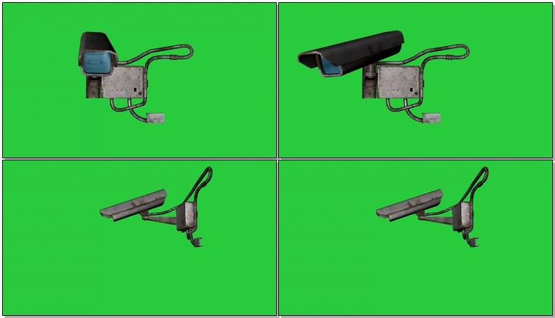 绿幕视频素材摄像监控