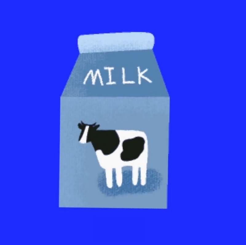 绿幕视频素材牛奶
