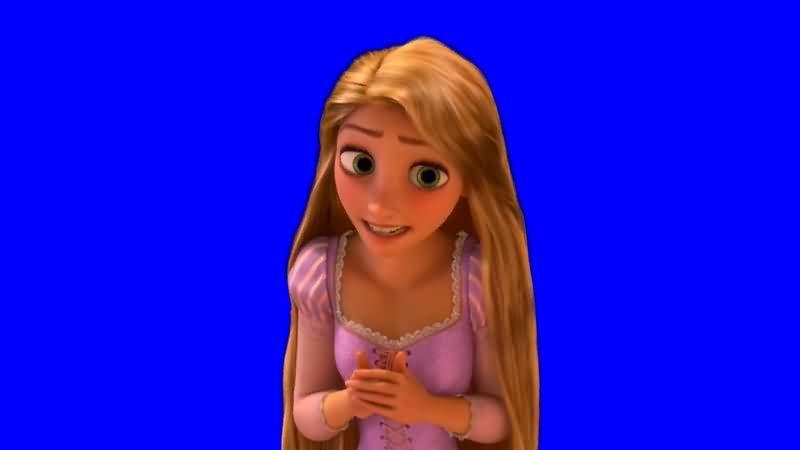 绿幕视频素材冰雪女王