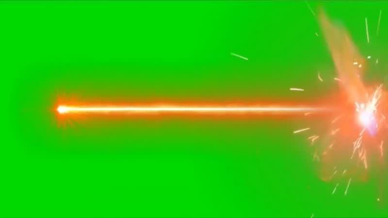 绿幕视频素材射击打击