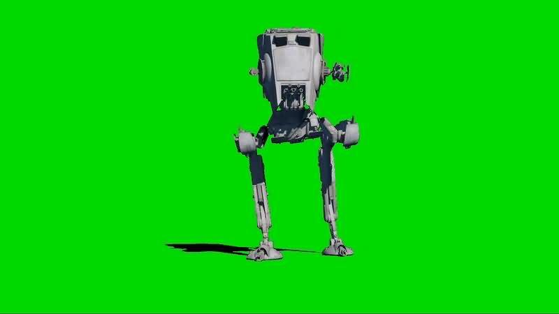 绿幕视频素材AT-ST机器人.jpg