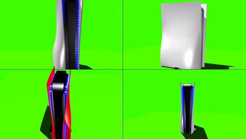 绿幕视频素材索尼PS游戏机