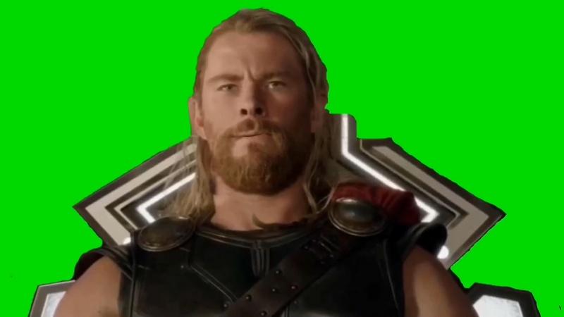 绿幕视频素材雷神索尔