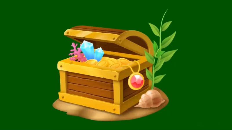 绿幕视频素材宝箱