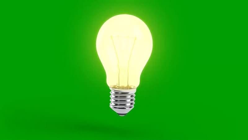 绿幕视频素材电灯泡.jpg