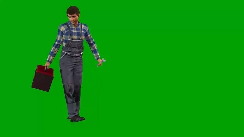 绿幕视频素材维修工