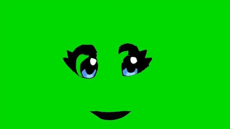 绿幕视频素材卡通表情