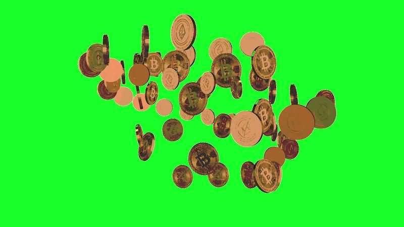 绿幕视频素材比特币