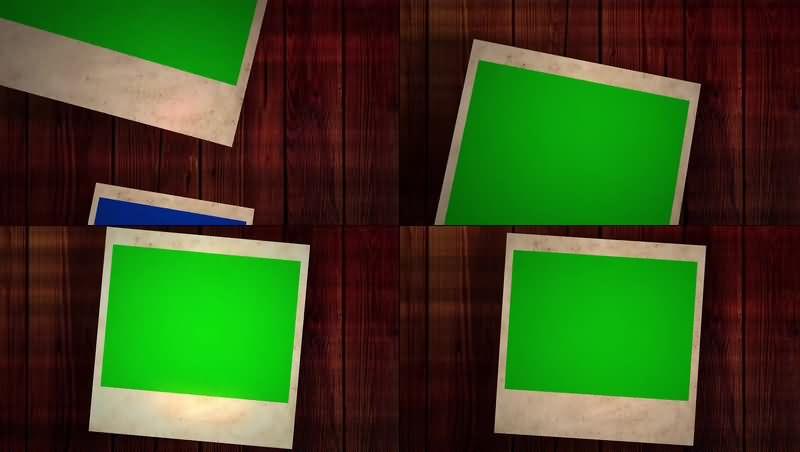 绿幕视频素材照片相册