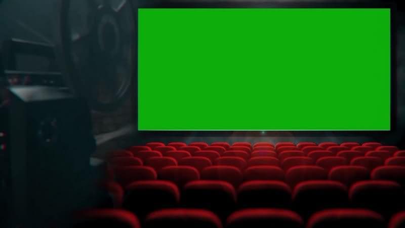 绿幕视频素材电影院