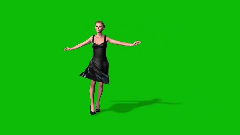 绿幕视频素材艾玛沃特森