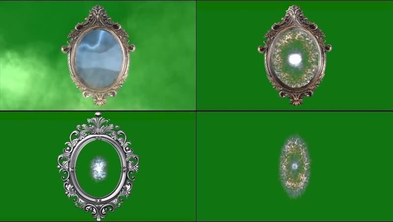 绿幕视频素材魔镜