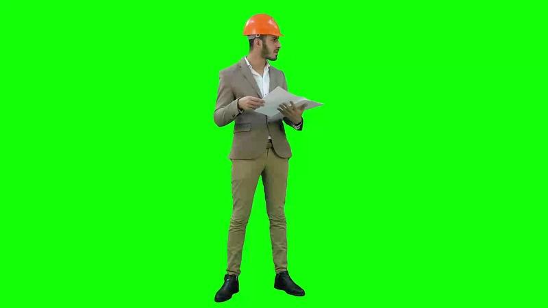 绿幕视频素材工程师